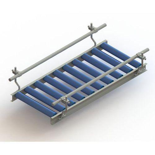 Prowadnica boczna do prostych przenośnika rolkowego,obustronna marki Unbekannt