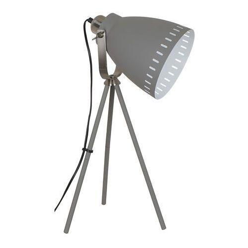 Franklin lampa stołowa 1-punktowa szara ML-HN2278-GR+S.NICK (5900644435136)