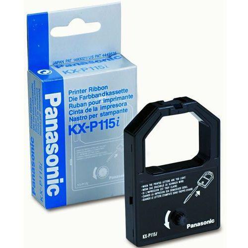 Taśma kx-p115i-s / kx-p1150 czarna do drukarek igłowych (oryginalna) marki Panasonic