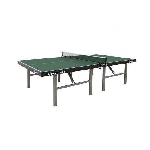 Profesjonalny stół do tenisa  s7-22 zielony, marki Sponeta
