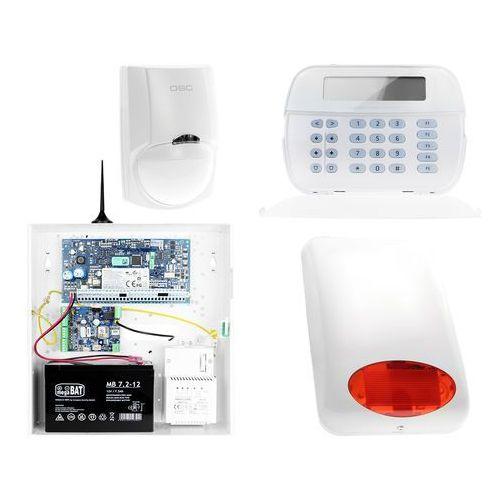 ZA12532 Zestaw alarmowy DSC 1x Czujnik ruchu Manipulator LCD Powiadomienie GSM