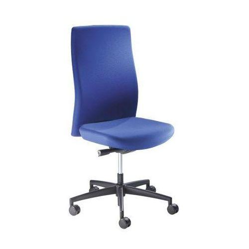 Interstuhl büromöbel Krzesło obrotowe dla operatora, wys. oparcia 590 mm, mechanizm synchroniczny, pł