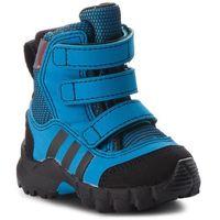 Śniegowce - cw holtanna snow cf i d97659 brblue/cblack/hireor marki Adidas