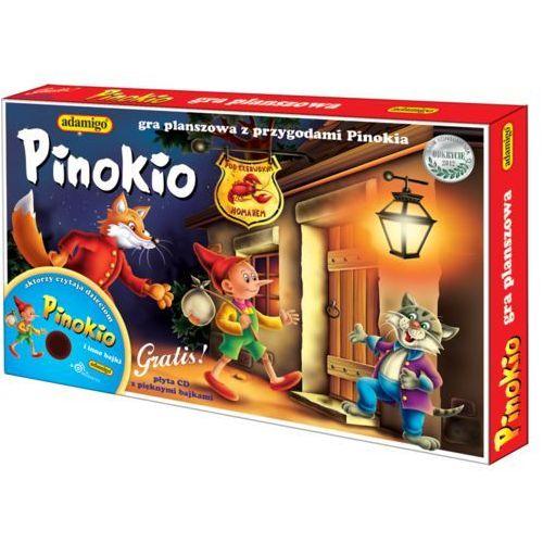 Pinokio gra planszowa marki Adamigo