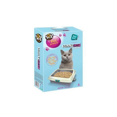 Lolo pets multicat majestic podłoże drewniane 6l - darmowa dostawa od 95 zł!