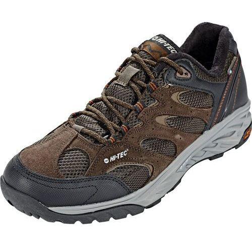 Hi-tec wild-fire low i wp buty mężczyźni brązowy/czarny uk 8 | eu 42 2018 buty turystyczne