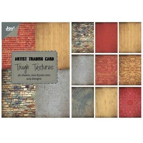 Ozdobny papier Tough Textures 85x60mm/36szt. - TOTEX