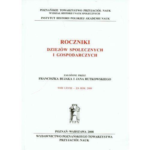 Roczniki dziejów społecznych i gospodarczych (2008)