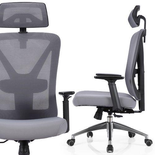 Nordhold Fotel biurowy ergo - skadi - szary (5907546085025)