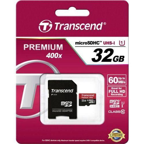 Transcend  microsdhc 32gb premium 400x uhs-i class 10