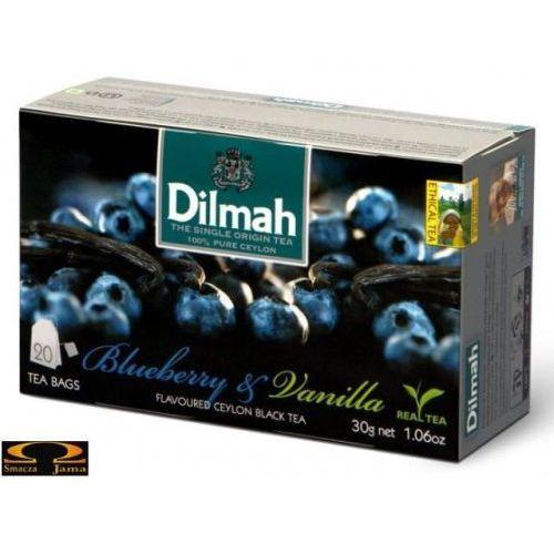 Herbata Dilmah Blueberry & Vanilla 20 torebek, 1776