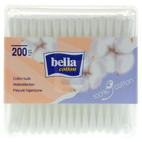 Patyczki higieniczne w pudełku Bella Cotton 200szt., BC-081-P200-001