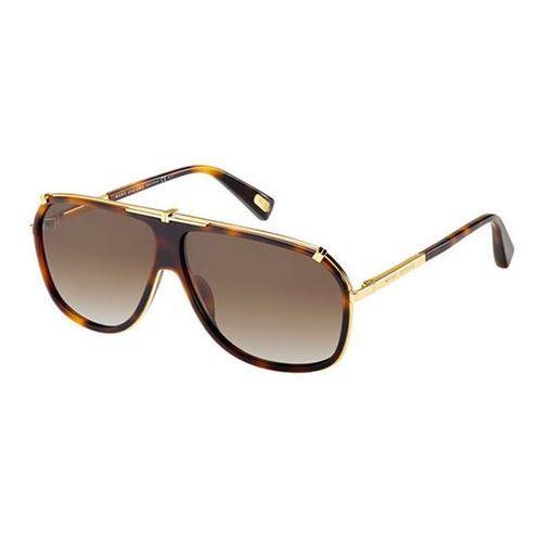 Okulary słoneczne mj 305/s polarized 001/la marki Marc jacobs