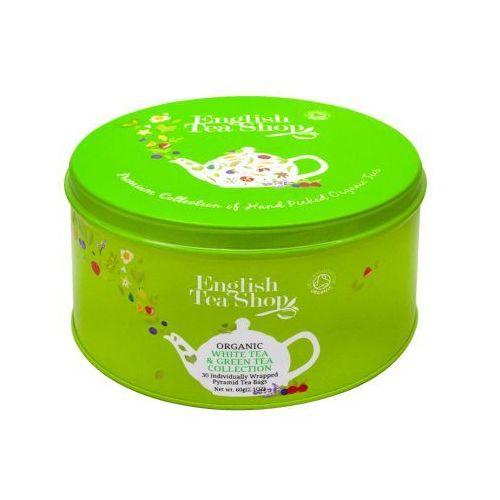 ETS White Tea & Green Tea Collection Puszka