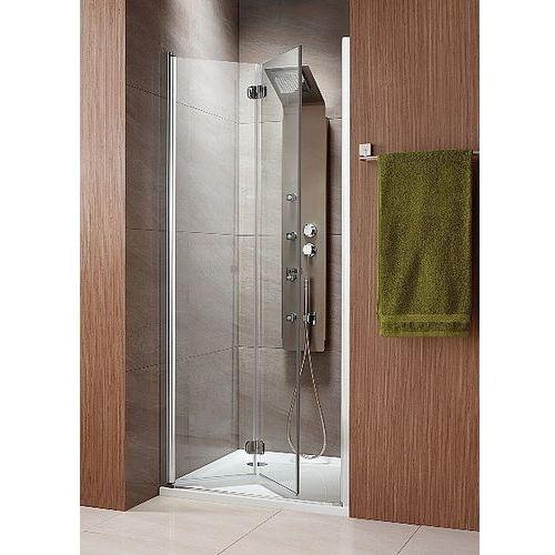 Radaway  eos dwb - drzwi wnękowe składane typu bifold 70 cm 37883-01-01nr prawe rodzaj drzwi: składane