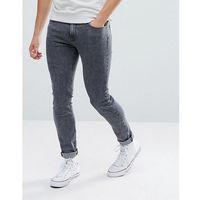 malone zip pocket power stretch after dark skinny jean - grey marki Lee