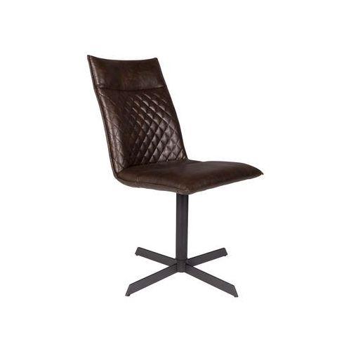 Orange line krzesło ivar ciemny brąz 1100329