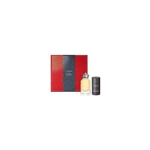 Cartier l´envol de cartier zestaw edt 80 ml + deostick 75 ml dla mężczyzn