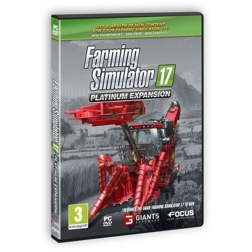 OKAZJA - Farming Simulator 2017 Dodatek Platynowy (PC)