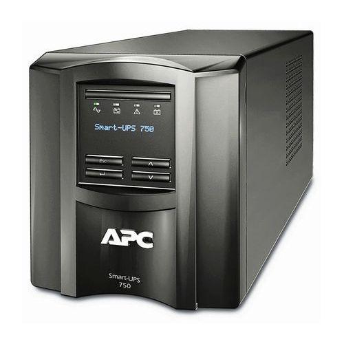 Zasilacz awaryjny UPS APC Smart-UPS 750VA/500W LCD Tower with SmartConnect, SMT750IC
