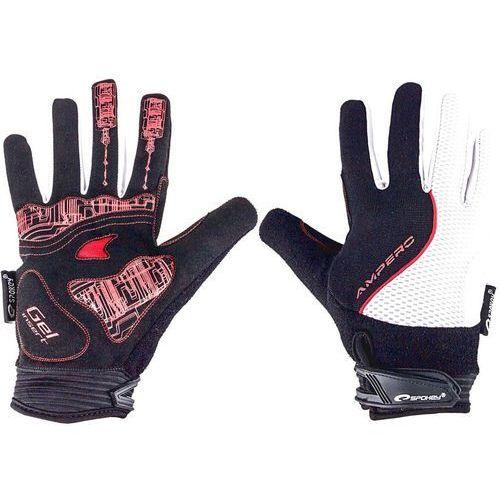 Rękawiczki rowerowe ampero (rozmiar s) marki Spokey