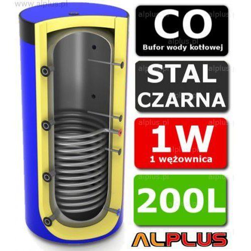 Bufor 200l z 1 wężownicą do co - zbiornik buforowy zasobnik akumulacyjny 200 litrów - wysyłka gratis marki Lemet