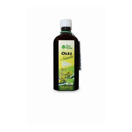 Dary natury - inne bio Olej z lnianki ( rydzowy ) virgin bio 100 ml dary natury (5902581616296)