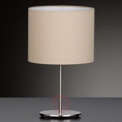 Honsel Piękna tekstylna lampa stołowa estadio (4001133523219)