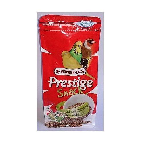 Versele-laga  prestige snack wild seeds 125g przysmak z nasionami roślin dzikich dla ptaków