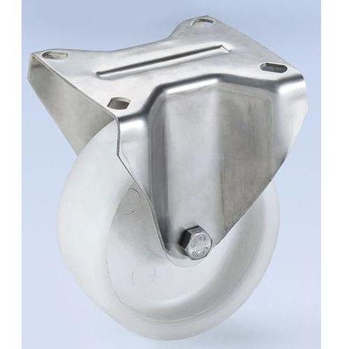 Kółko z poliamidu, obudowa ze stali szlachetnej, Ø x szer. kółka 80x30 mm, rolka