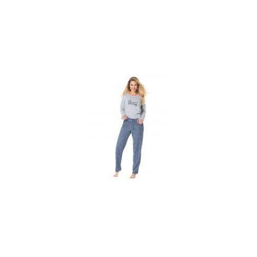 Bawełniana piżama damska Rossli SAL-PY-1075, SAL-PY-1075