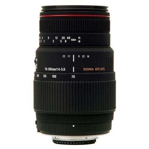 Obiektyw Sigma 70-300 F4-5.6 APO DG MACRO mocowanie Canon