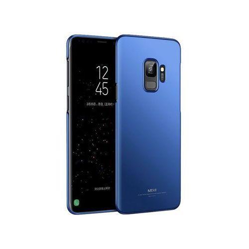 Etui MSVII Thin Case do Samsung Galaxy S9 niebieskie + Szkło - Niebieski, kolor niebieski