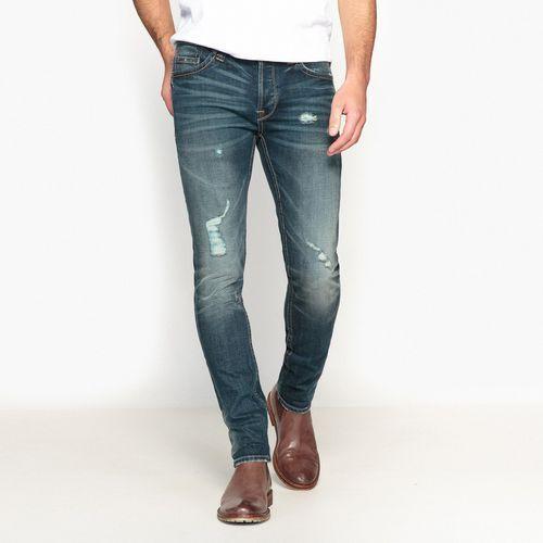 Dżinsy 73cm regular, proste, kolor niebieski