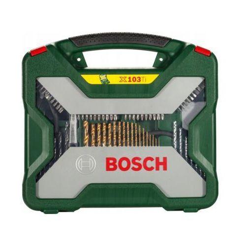 Bosch Zestaw x-line titanium (103 sztuki) darmowy transport (3165140379540)