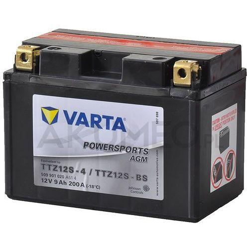 Akumulator VARTA Powersports AGM TTZ12S-BS 12V 9Ah 200A lewy+ (4016987127414)