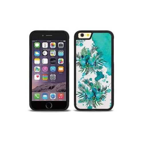 Apple iPhone 6s - etui na telefon Aluminum Fantastic - turkusowa orchidea, kolor niebieski