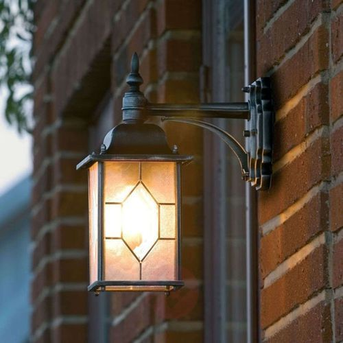 Lampa ścienna zewnętrzna Konstsmide 7248-759, 1x75 W, E27, IP43 , (DxSxW) 16 x 29 x 38 cm, 7248-759
