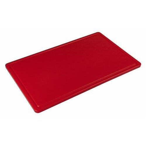 Tom-gast Deska z polietylenu haccp czerwona