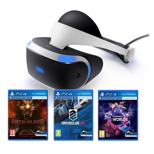 Sony PlayStation VR + 3 gry, kup u jednego z partnerów