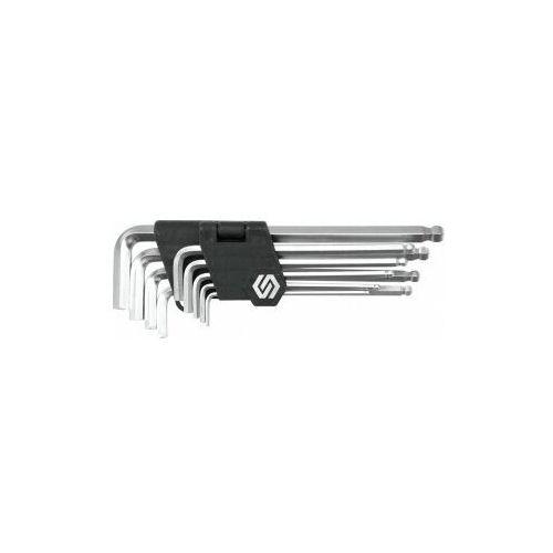 Vorel Klucze sześciokątne /hex/ 2,5-10 mm, końcówki kuliste, cr-v, kpl. 9 szt.