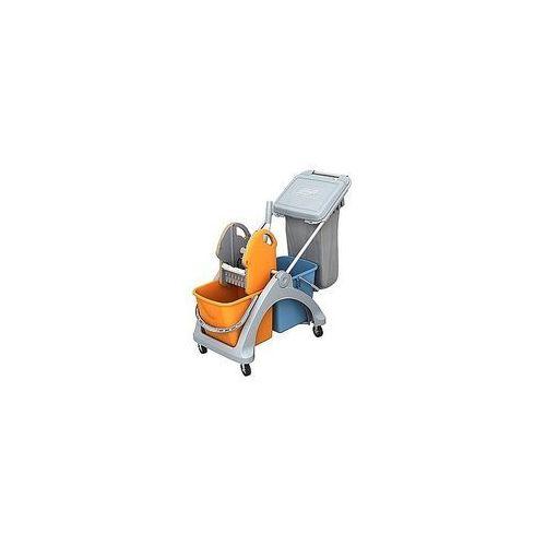 Wózek podwójny z workiem na odpady - linia tsk marki Splast