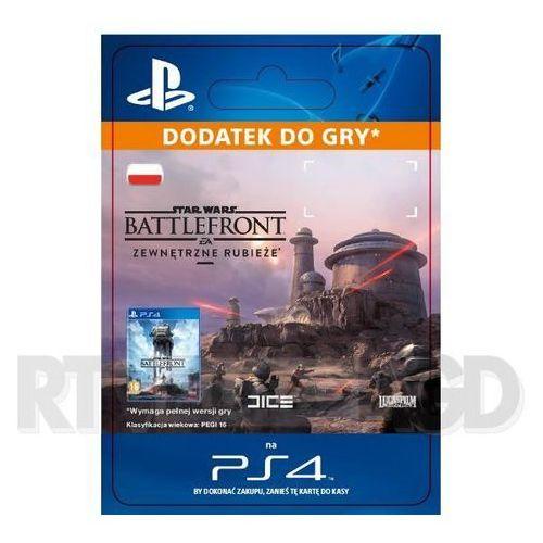 Sony Star wars battlefront - zewnętrzne rubieże dlc [kod aktywacyjny]