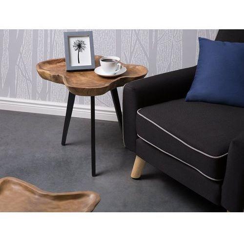 Stolik kawowy - drewniany - do pokoju - ława kawowa - stół - elsa marki Beliani