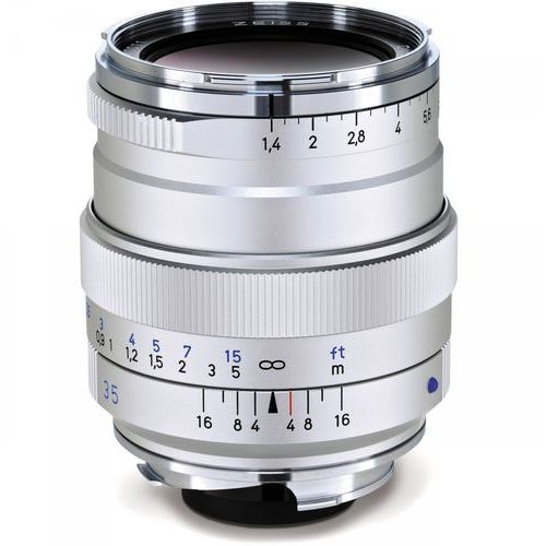 Carl Zeiss Distagon 35 mm f/1.4 ZM srebrny (4047865200530)