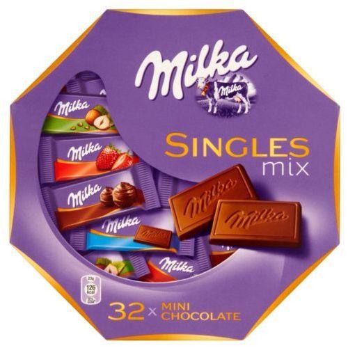 MILKA 147g Mieszanka czekoladek mlecznych z mleka alpejskiego, 378