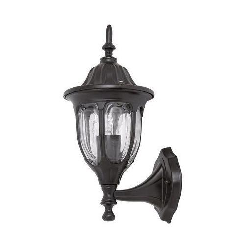 Kinkiet zewnętrzny lampa ścienna milano 1x60w e27 ip43 czarny 8342 marki Rabalux