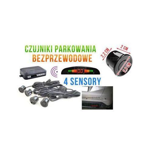 Bezprzewodowe czujniki parkowania (4-sensory + sygnalizator) - czarne. marki Cars accessories co.