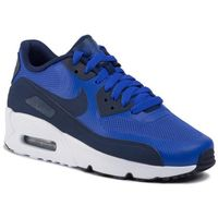 Nike Buty - air max 90 ultra 2.0 (gs) 869950 401 paramount blue/binary blue