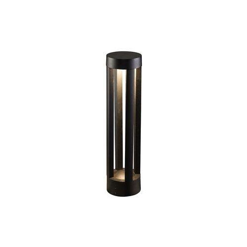 Lampa stojąca tepic 9508 ogrodowa 1x9w led ip54 szary marki Nowodvorski
